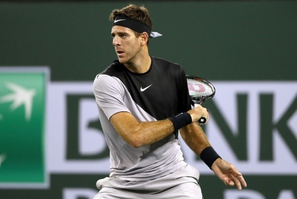 Del Potro avanzó en Indian Wells.